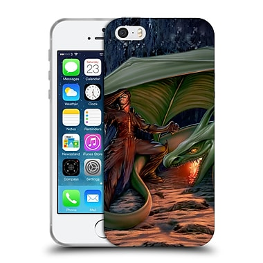Official LA WILLIAMS DRAGONS Black Rider Soft Gel Case for Apple iPhone 5 / 5s / SE (C_D_1D575)