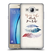 Official KRISTINA KVILIS FEATHERS Your Vibe Soft Gel Case for Samsung Galaxy On5 (C_1B7_1DE04)