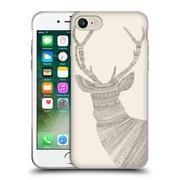 Official FLORENT BODART ANIMAL LINES Stag Beige Soft Gel Case for Apple iPhone 7 (C_1F9_1AF7C)
