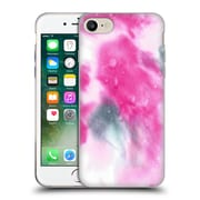 """Official JULIEN """"CORSAC"""" MISSAIRE ABSTRACT 2 Marbled Milk Pink Black Soft Gel Case for Apple iPhone 7 (C_1F9_1AEA7)"""