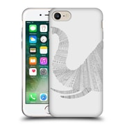 Official FLORENT BODART ANIMAL LINES Elephant Grey Soft Gel Case for Apple iPhone 7 (C_1F9_1AF7B)