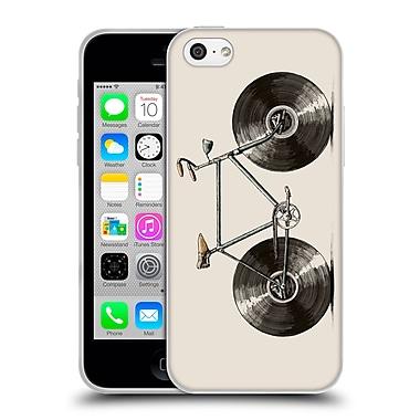 Official FLORENT BODART BIKES Velophone Soft Gel Case for Apple iPhone 5c (C_E_1AF9D)