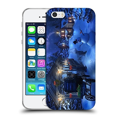 Official JOEL CHRISTOPHER PAYNE HOLIDAY SEASON Snowman Crossing Soft Gel Case for Apple iPhone 5 / 5s / SE (C_D_1B3F4)