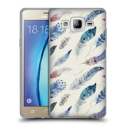 Official KRISTINA KVILIS FEATHERS Wind Soft Gel Case for Samsung Galaxy On5 (C_1B7_1DE00)