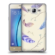 Official KRISTINA KVILIS FEATHERS Twigs Soft Gel Case for Samsung Galaxy On5 (C_1B7_1DDFB)