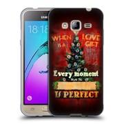 Official JOEL CHRISTOPHER PAYNE HOLIDAY SEASON Love Is A Gift Soft Gel Case for Samsung Galaxy J3 (C_1B6_1B3F0)
