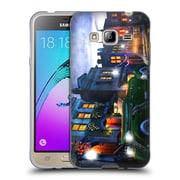 Official JOEL CHRISTOPHER PAYNE ENCHANTED PLACES Sleeping City Soft Gel Case for Samsung Galaxy J3 (C_1B6_1B3E3)