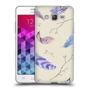 Official KRISTINA KVILIS FEATHERS Twigs Soft Gel Case for Samsung Galaxy Grand Prime (C_B5_1DDFB)