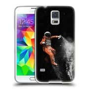 Official FLORENT BODART SPACE Astronaut Soft Gel Case for Samsung Galaxy S5 / S5 Neo (C_AB_1AFCE)