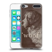 Official FLORENT BODART ANIMALS Famous Quote Dog Soft Gel Case for Apple iPod Touch 6G 6th Gen (C_157_1AF86)