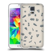 Official FLORENT BODART PATTERNS 2 Surlaplage Soft Gel Case for Samsung Galaxy S5 / S5 Neo (C_AB_1AFCB)