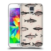 Official FLORENT BODART ANIMALS 2 Fishes In Geometrics Soft Gel Case for Samsung Galaxy S5 / S5 Neo (C_AB_1AF8F)