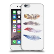 Official KRISTINA KVILIS FEATHERS Primary Soft Gel Case for Apple iPhone 6 / 6s (C_F_1DDFD)