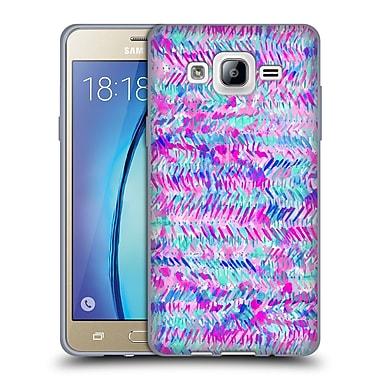 Official JACQUELINE MALDONADO PATTERNS Fervor Pink Turquoise Soft Gel Case for Samsung Galaxy On5 (C_1B7_1BDED)