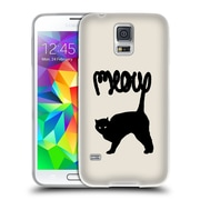 Official FLORENT BODART ANIMALS Meow Soft Gel Case for Samsung Galaxy S5 / S5 Neo (C_AB_1AF87)