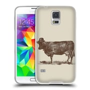 Official FLORENT BODART ANIMALS 2 Cow Cow Nut Soft Gel Case for Samsung Galaxy S5 / S5 Neo (C_AB_1AF8B)