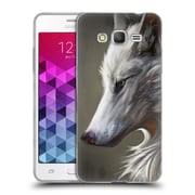 Official EXILEDEN CANINE Arctic Wolf Soft Gel Case for Samsung Galaxy Grand Prime (C_B5_1C83B)