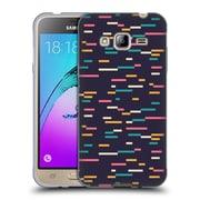 Official FLORENT BODART PATTERNS Pixel Lines Soft Gel Case for Samsung Galaxy J3 (C_1B6_1AFC0)