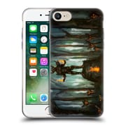 Official JOEL GRATTE ILLUSTRATION Demon Shrine Soft Gel Case for Apple iPhone 7 (C_1F9_1E07D)