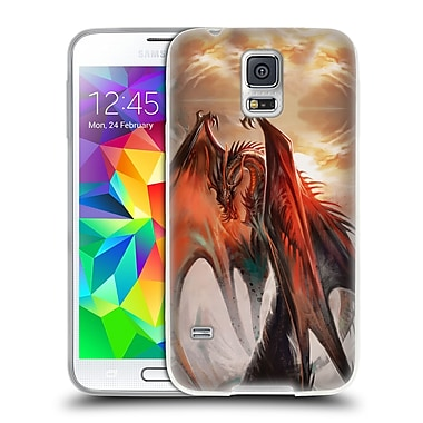 Official EXILEDEN FANTASY Dragon Soft Gel Case for Samsung Galaxy S5 / S5 Neo (C_AB_1C841)