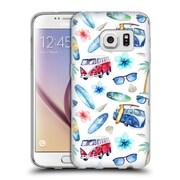 Official KRISTINA KVILIS PATTERN Beach Soft Gel Case for Samsung Galaxy S7 (C_1B9_1DE14)