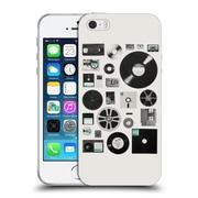 Official FLORENT BODART MUSIC Data Uni Soft Gel Case for Apple iPhone 5 / 5s / SE (C_D_1AFB0)