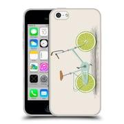 Official FLORENT BODART BIKES Acid Soft Gel Case for Apple iPhone 5c (C_E_1AF95)