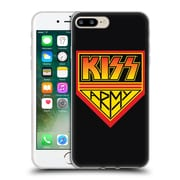 Official KISS LOGO Army Soft Gel Case for Apple iPhone 7 Plus (C_1FA_1D6BD)