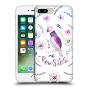 Official KRISTINA KVILIS BIRDS Rose And Lily 3 Soft Gel Case for Apple iPhone 7 Plus (C_1FA_1DDD6)