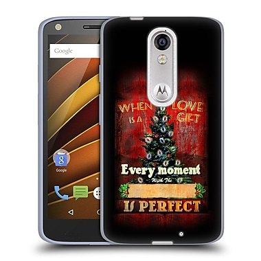Official JOEL CHRISTOPHER PAYNE HOLIDAY SEASON Love Is A Gift Soft Gel Case for DROID Turbo 2 / X Force (C_1C3_1B3F0)