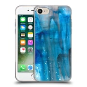 """Official JULIEN """"CORSAC"""" MISSAIRE ABSTRACT 3 Marbled Paint Blue Flow Soft Gel Case for Apple iPhone 7 (C_1F9_1AEBA)"""
