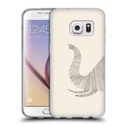 Official FLORENT BODART ANIMAL LINES Elephant Beige Soft Gel Case for Samsung Galaxy S7 (C_1B9_1AF78)