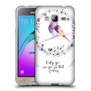 Official KRISTINA KVILIS BIRDS Only You Can Give Me That Feeling Soft Gel Case for Samsung Galaxy J3 (C_1B6_1DDDB)