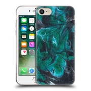 """Official JULIEN """"CORSAC"""" MISSAIRE ABSTRACT 3 Marbled Paint Black Green Soft Gel Case for Apple iPhone 7 (C_1F9_1AEB6)"""