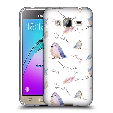 Official KRISTINA KVILIS BIRDS Pattern Soft Gel Case for Samsung Galaxy J3 (C_1B6_1DDDD)