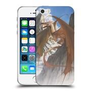 Official LA WILLIAMS DRAGONS Ancient Refuge Colour Soft Gel Case for Apple iPhone 5 / 5s / SE (C_D_1D573)