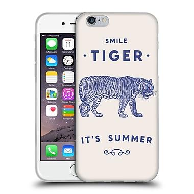 Official FLORENT BODART ANIMALS 2 Smile Tiger Soft Gel Case for Apple iPhone 6 / 6s (C_F_1AF94)