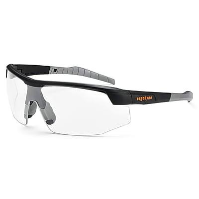 Skullerz® Skoll Safety Glasses, Clear Lens, Black (59000)