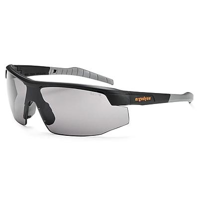 Skullerz® Skoll Safety Glasses, Smoke Lens, Black (59030)