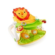 Fisher-Price Sit-Me-Up Fabric Kids Floor Seat with Tray, Multicolor (FPR21)