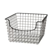 Spectrum Diversified Medium Scoop Storage Basket, Industrial Gray (98976)