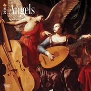 Angels 2018 12 x 12 Inch Square Wall Calendar
