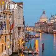 Venice 2018 12 x 12 Inch Square Wall Calendar