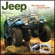 Jeep 2018 12 x 12 Inch Monthly Square Wall Calendar