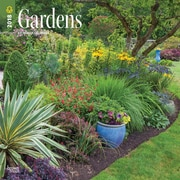 Gardens 2018 12 x 12 Inch Monthly Square Wall Calendar