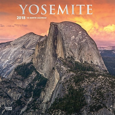Yosemite 2018 12 x 12 Inch Monthly Square Wall Calendar