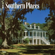 Southern Places 2018 12 x 12 Inch 12 x 12 Inch Monthly Square Wall Calendar