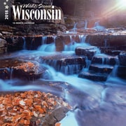 Wisconsin, Wild & Scenic 2018 12 x 12 Inch Monthly Square Wall Calendar