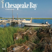 Chesapeake Bay 2018 12 x 12 Inch Monthly Square Wall Calendar