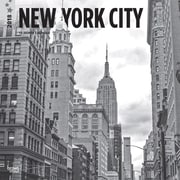 New York City Black & White 2018 12 x 12 Inch Monthly Square Wall Calendar